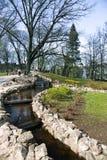 Bastionu wzgórza park w środkowy Ryskim Zdjęcie Royalty Free