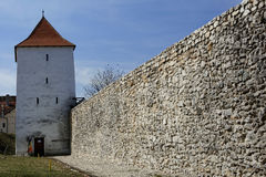 Bastionul Tesătorilor, Brasov. Located in the southwest corner of the city of Brasov, Bastion, occupies an area of 1,616 square meters. Its walls have a Royalty Free Stock Image