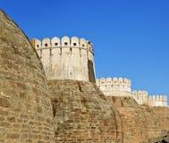 bastiony roszują kumbhalghar zewnętrznego fort obraz stock