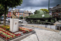 Bastogne McAuliffe memorial Royalty Free Stock Photos