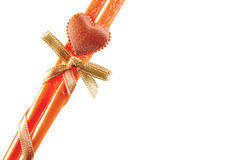 Bastoncini arancio Fotografia Stock Libera da Diritti
