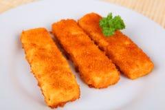 Bastoncini di pesce Immagini Stock