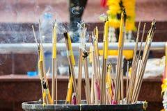 Bastone bruciante di incenso Fotografie Stock
