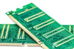 Bastone della memoria ad accesso casuale del computer (RAM) Fotografie Stock Libere da Diritti