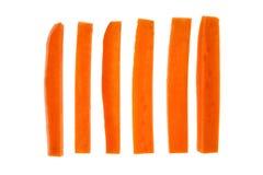 Bastone di carota Fotografia Stock Libera da Diritti