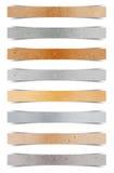 Bastone di carta di carta riciclato Immagini Stock