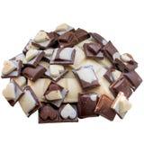 Bastone di cioccolato fotografia stock