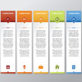 Bastone di Infographic Immagine Stock