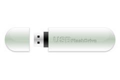 Bastone di memoria Flash del USB Fotografia Stock Libera da Diritti