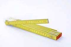 Bastone di misurazione piegante Fotografia Stock
