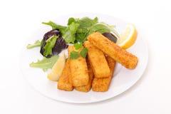 Bastone di pesce del dito fotografie stock libere da diritti