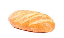 Bastone lungo della pagnotta (pane bianco) isolato su bianco Fotografie Stock