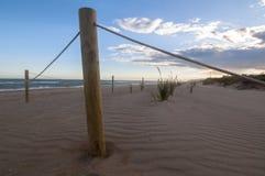 Bastone nella spiaggia Fotografia Stock Libera da Diritti