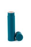 Bastone screpolato dell'idratante delle labbra fotografia stock