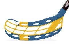 Bastone Svezia di Floorball Immagini Stock
