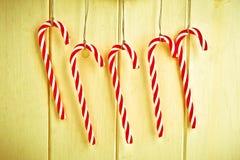 Bastones de caramelo Fotografía de archivo