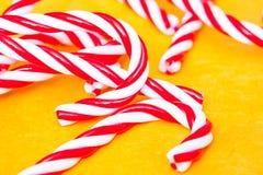 Bastones de caramelo Foto de archivo libre de regalías