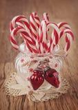 Bastones de caramelo fotografía de archivo libre de regalías