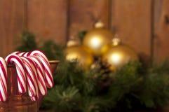 Bastones de caramelo Fotos de archivo libres de regalías