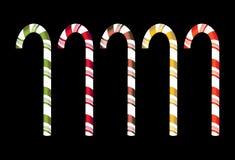 Bastones de caramelo aislados libre illustration