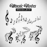 Bastones musicales Foto de archivo libre de regalías