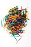 Bastoni brillantemente colorati Fotografia Stock Libera da Diritti