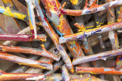 Bastoni colorati Fotografia Stock