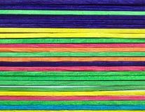Bastoni colorati Immagini Stock