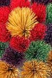 Bastoni colorati di incenso Fotografie Stock Libere da Diritti