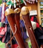 Bastoni da passeggio Fotografie Stock
