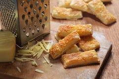 Bastoni dei savouries del formaggio Fotografia Stock Libera da Diritti