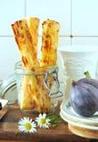 Bastoni del formaggio Fotografie Stock
