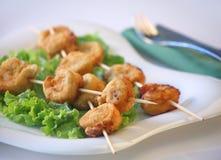 Bastoni del pollo Fotografie Stock