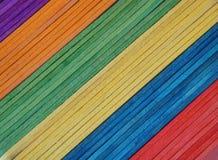 Bastoni del Popsicle fotografie stock libere da diritti