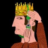 Bastoni del re con un lucchetto la parte superiore Fotografie Stock