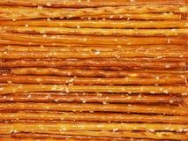 Bastoni della ciambellina salata Immagine Stock
