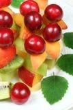 Bastoni della frutta Immagini Stock