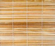 Bastoni di bambù con la priorità bassa d'unificazione del filetto Fotografia Stock Libera da Diritti