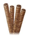 Bastoni di Choco Immagine Stock