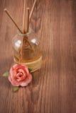 Bastoni di fragranza o diffusore del profumo Fotografie Stock