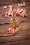 Bastoni di fragranza o diffusore del profumo Immagini Stock