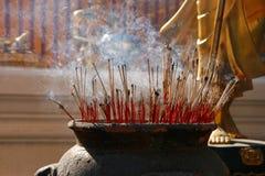 Bastoni di incenso Fotografie Stock Libere da Diritti