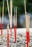 Bastoni di incenso Fotografia Stock Libera da Diritti