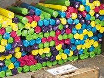 Bastoni di incenso, 100 Yen Fotografia Stock Libera da Diritti