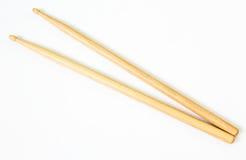 Bastoni di legno del tamburo fotografie stock