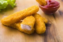 bastoni di pesce Immagini Stock