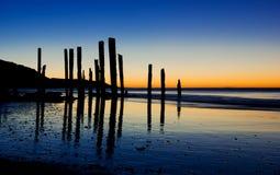 Bastoni di tramonto Immagini Stock Libere da Diritti