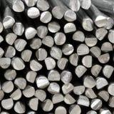 Bastoni grezzi di alluminio Fotografia Stock Libera da Diritti