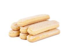 Bastoni italiani del biscotto Fotografia Stock