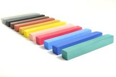 Bastoni pastelli Fotografia Stock